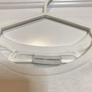 Chiara Ferragni Tops - CHIARA FERRAGNI Flirting Crop Top